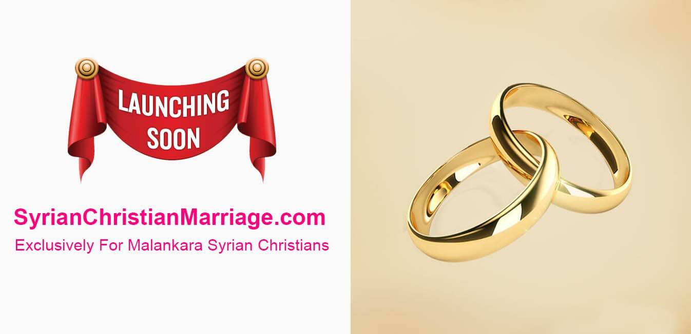 Syrian Christian Marriage, Matrimony Website - Only